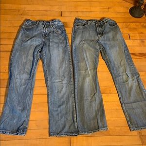 Boys Jeans Lot Two Pair Urban Pipeline blue jean